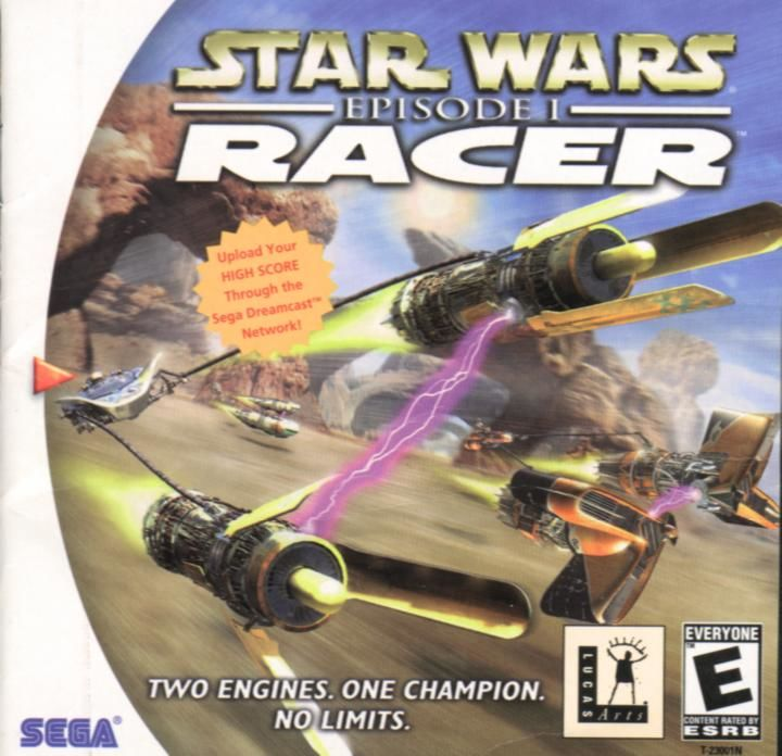 Video Games & Consoles Sega Dreamcast Replacement Game Case And Cover Star Wars Racer
