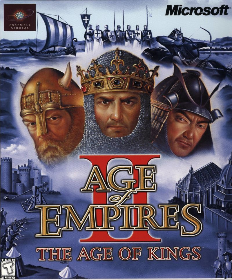 Age of Empires II: The Age of Kings Windows Front Cover