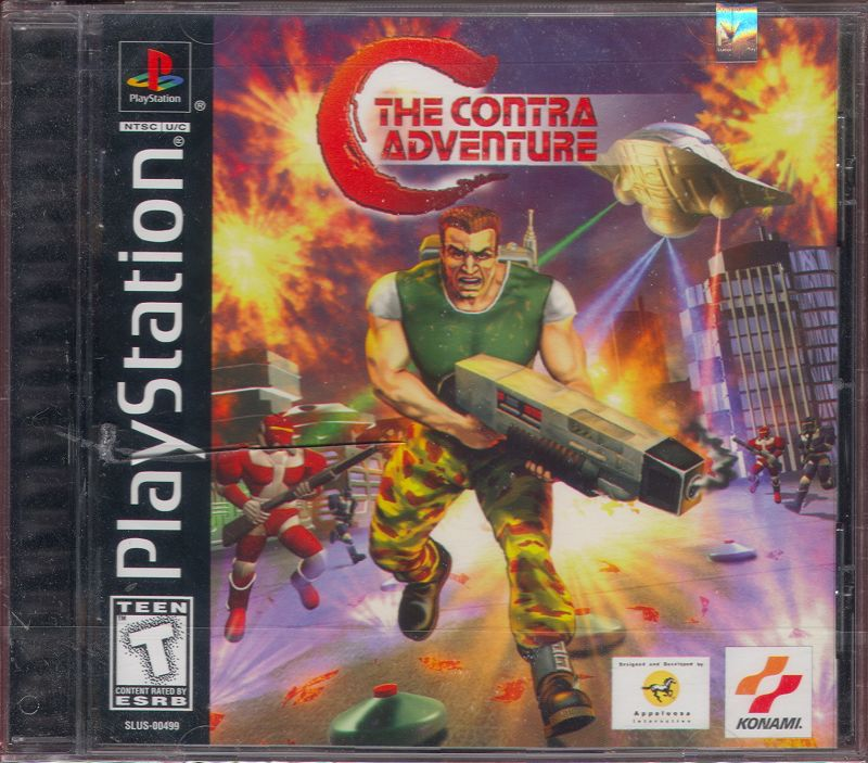 C: The Contra Adventure PlayStation Front Cover