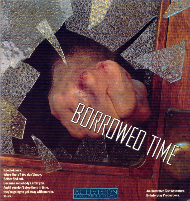 Borrowed Time Amiga Front Cover