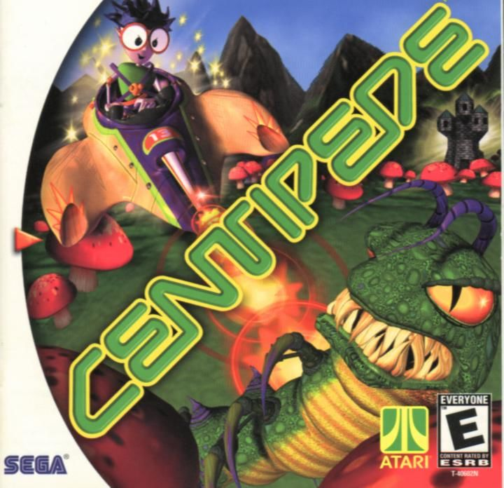 Centipede Dreamcast Front Cover