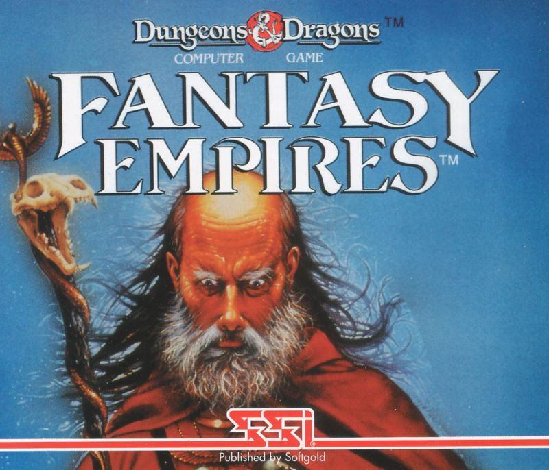 Fantasy Empires DOS Other Jewel Case - Back