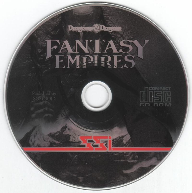 Fantasy Empires DOS Media