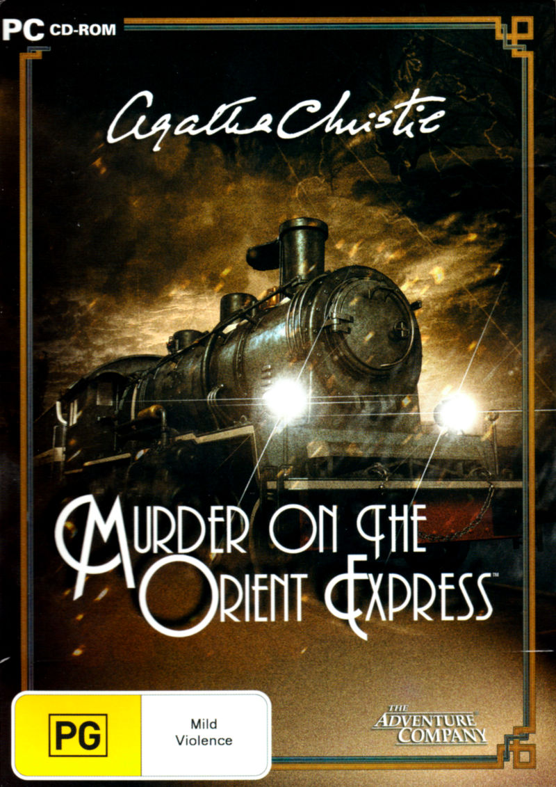Agatha Christie: Murder on the Orient Express Windows Front Cover