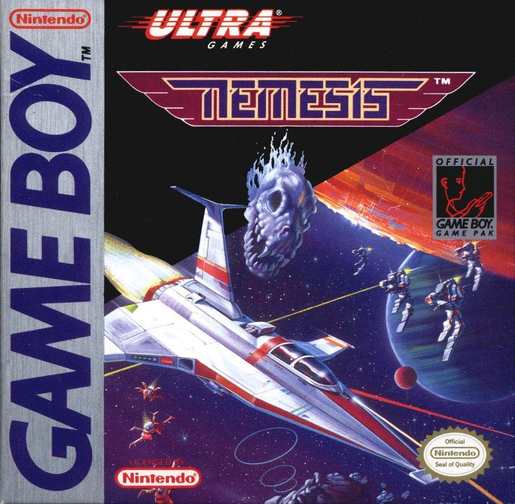 Nemesis Game Boy Front Cover