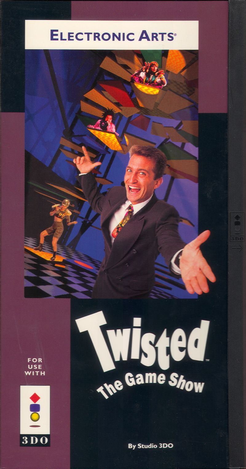 Twisted: The Game Show 3DO Front Cover