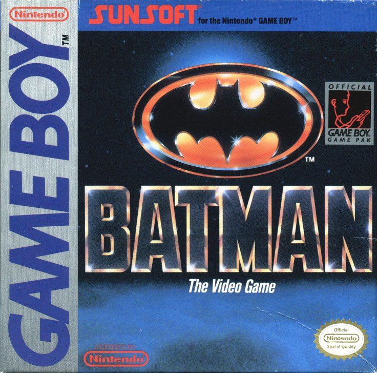 Batman: The Video Game Game Boy Front Cover