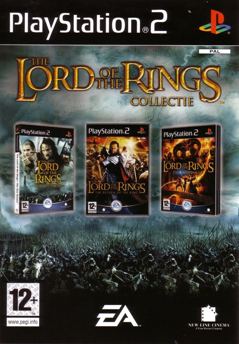 The Lord of the Rings Collectie PlayStation 2 Front Cover