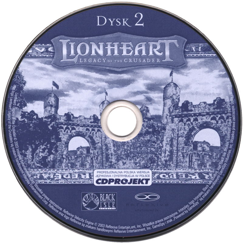 Lionheart: Legacy of the Crusader Windows Media Disc 2/2