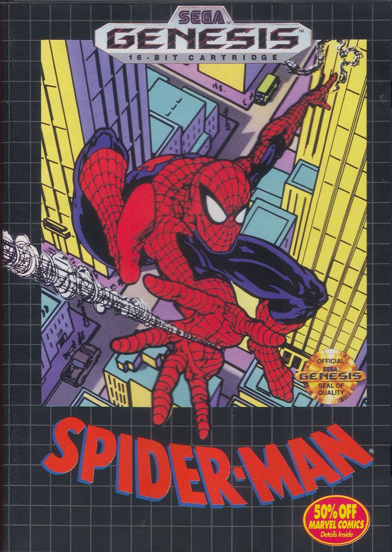 Spider-Man for Game Gear (1992) - MobyGames