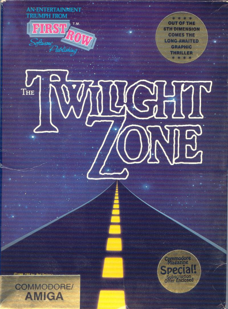 The Twilight Zone Amiga Front Cover