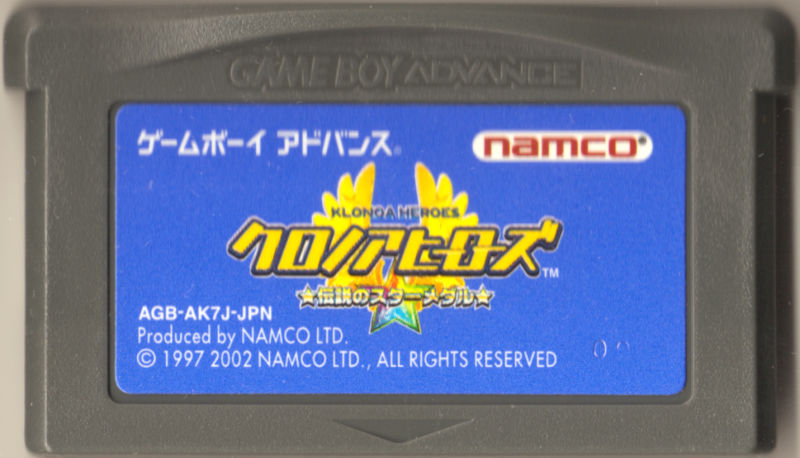 Klonoa Heroes: Densetsu no Star Medal Game Boy Advance Media