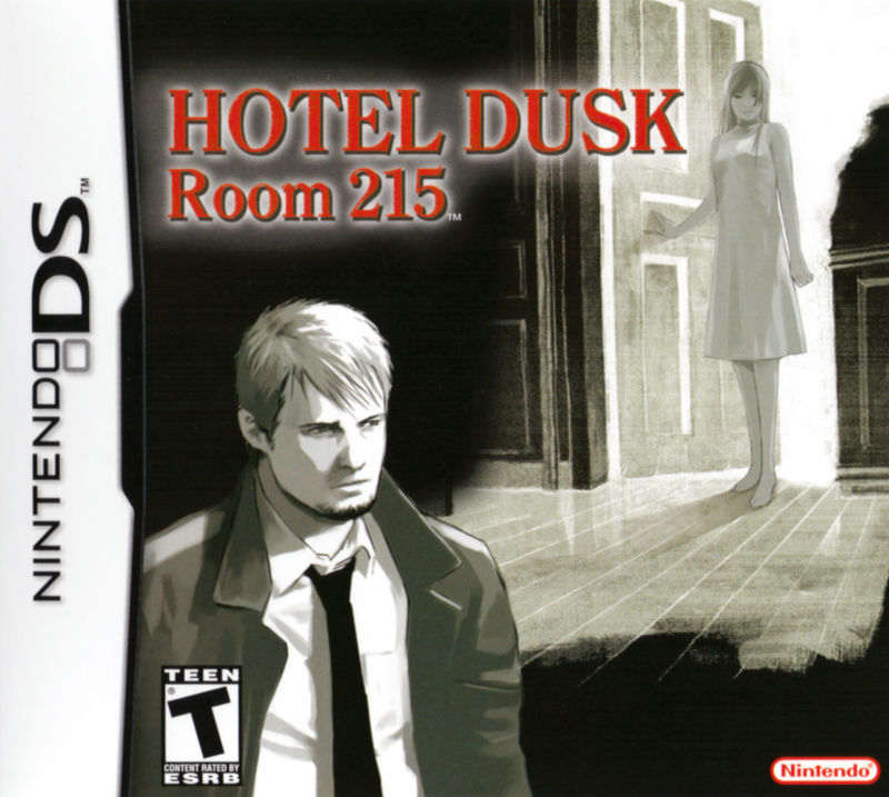 Hotel Dusk: Room 215 Nintendo DS Front Cover