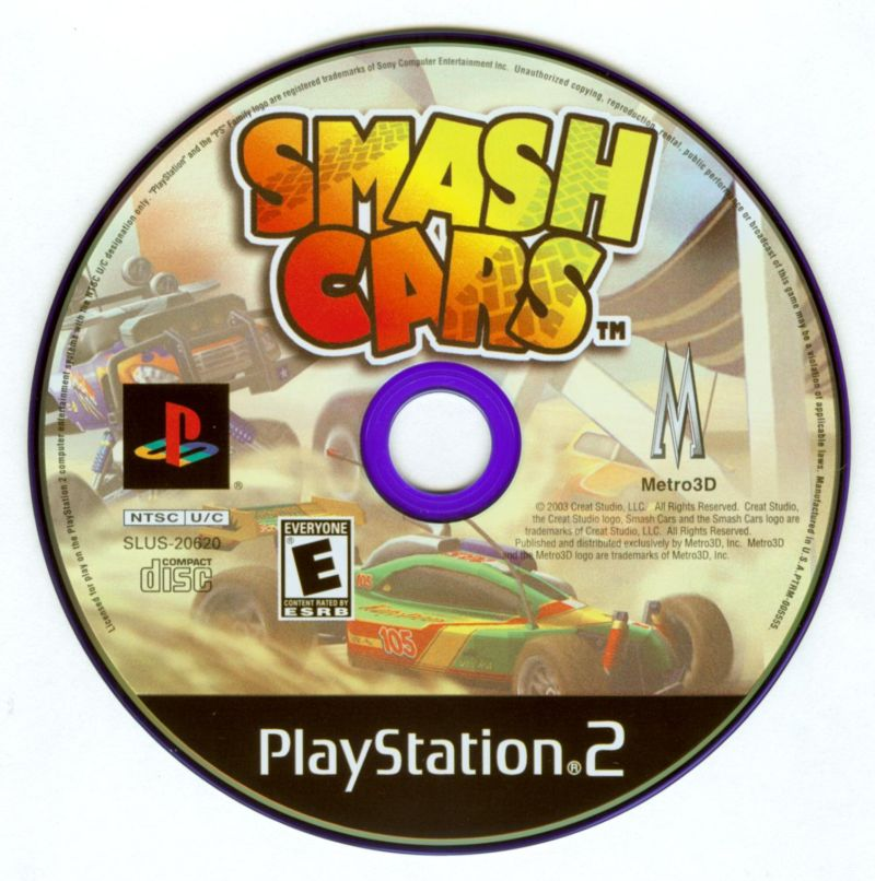 RC Cars PlayStation 2 Media