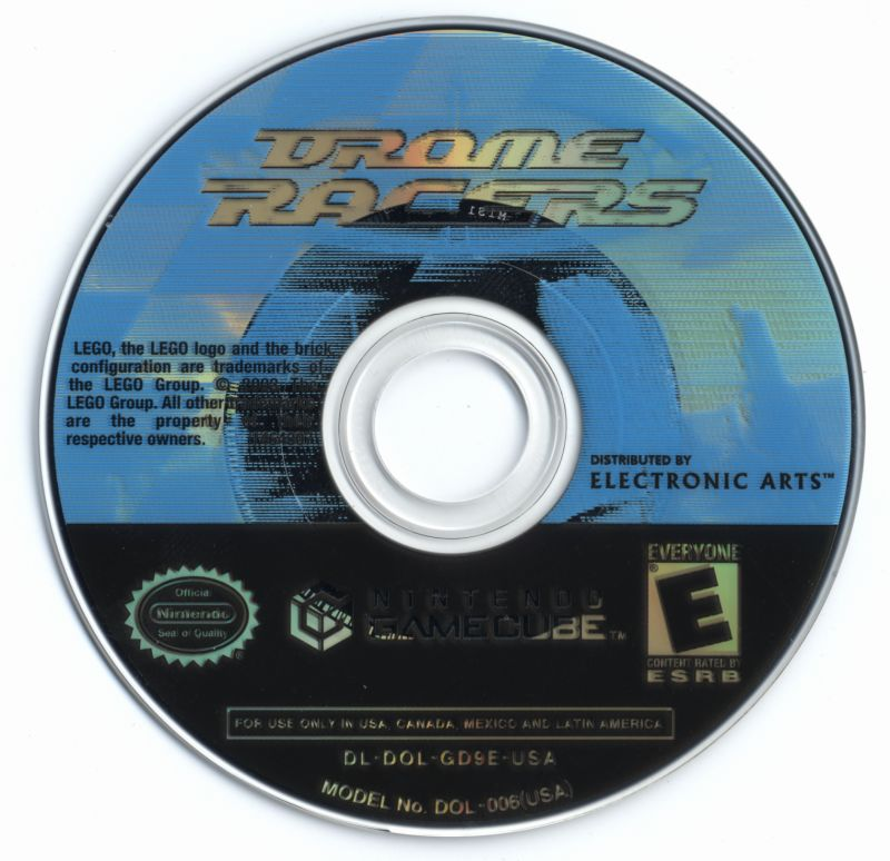 Drome Racers GameCube Media