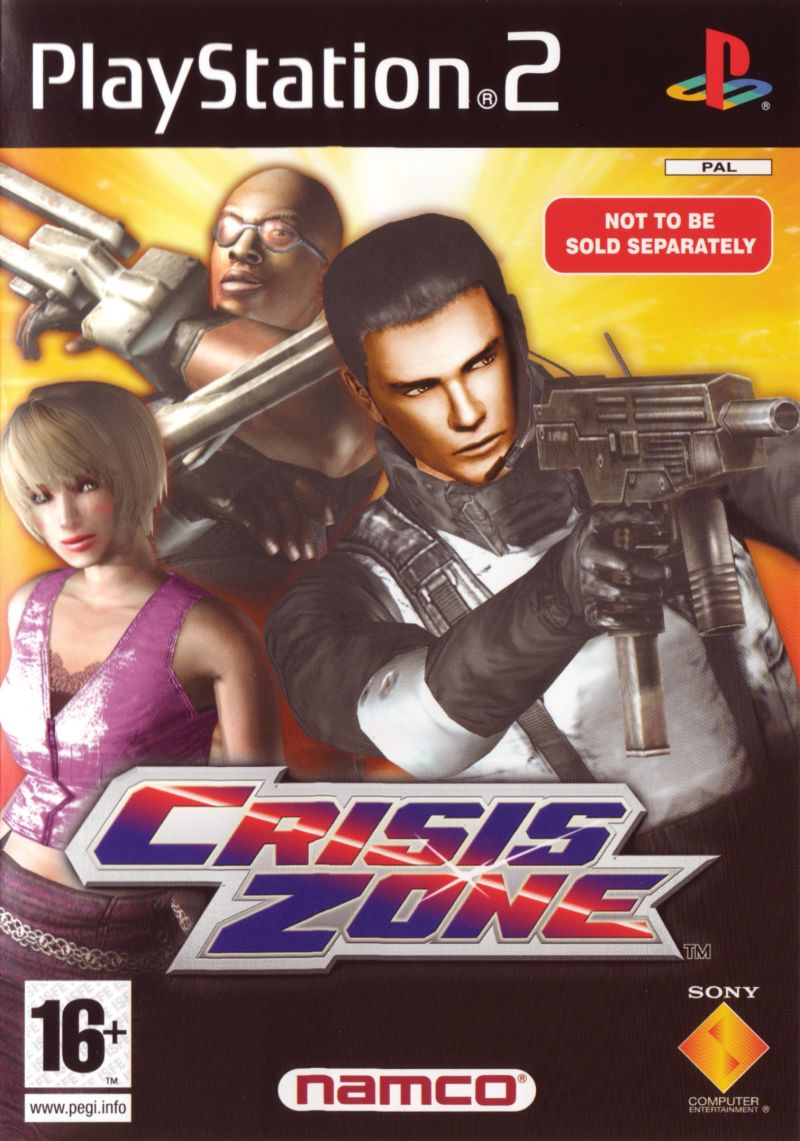Time Crisis: Crisis Zone PlayStation 2 Other Keep Case - Front