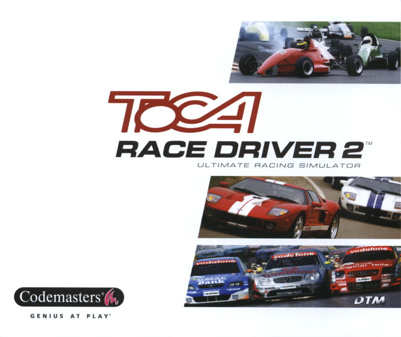 TOCA Race Driver 2 Windows Other Jewel Case - Front
