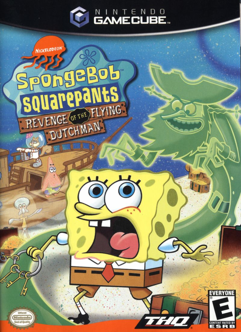 SpongeBob SquarePants: Revenge of the Flying Dutchman GameCube Front Cover