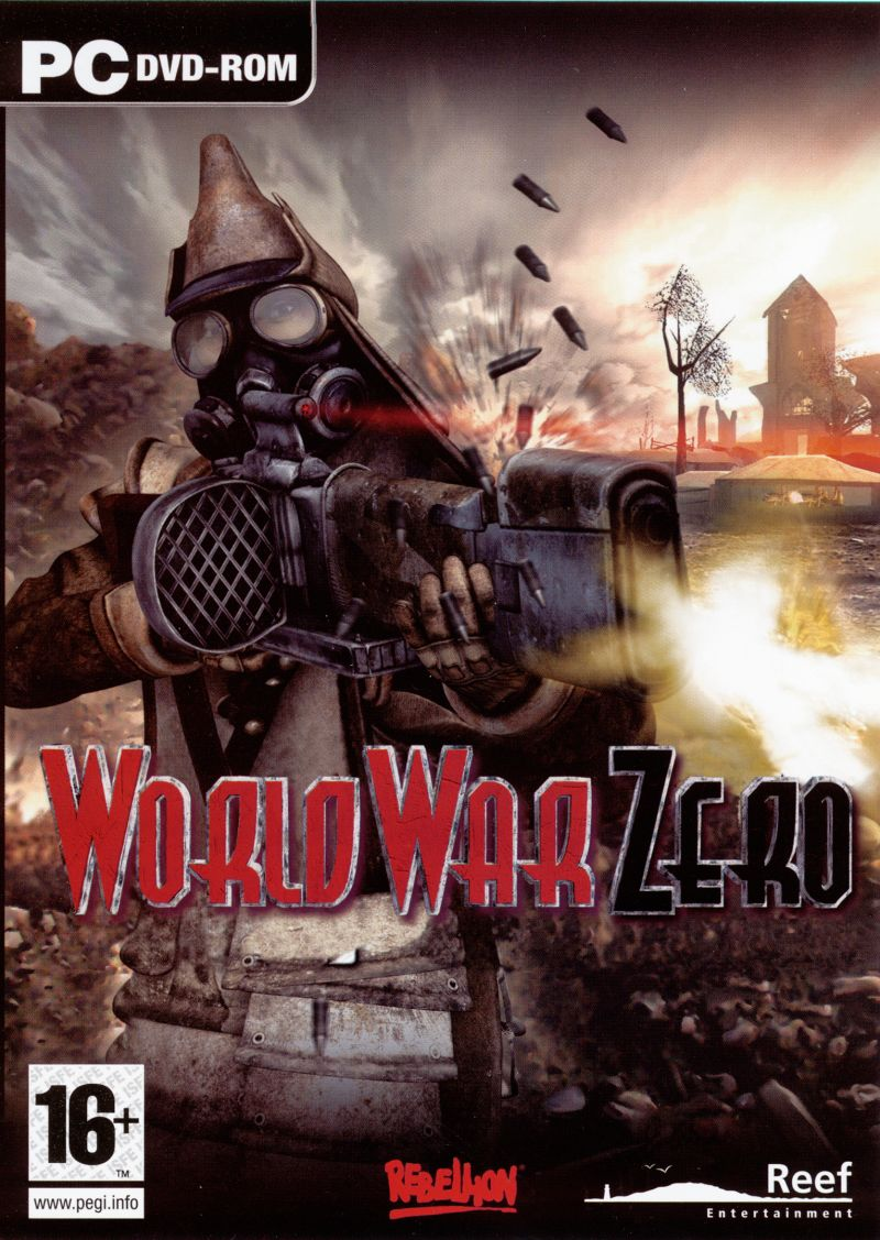World War Zero: Iron Storm Windows Front Cover