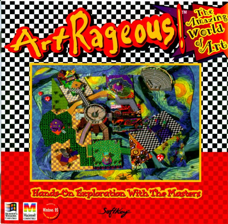 ArtRageous! Macintosh Front Cover
