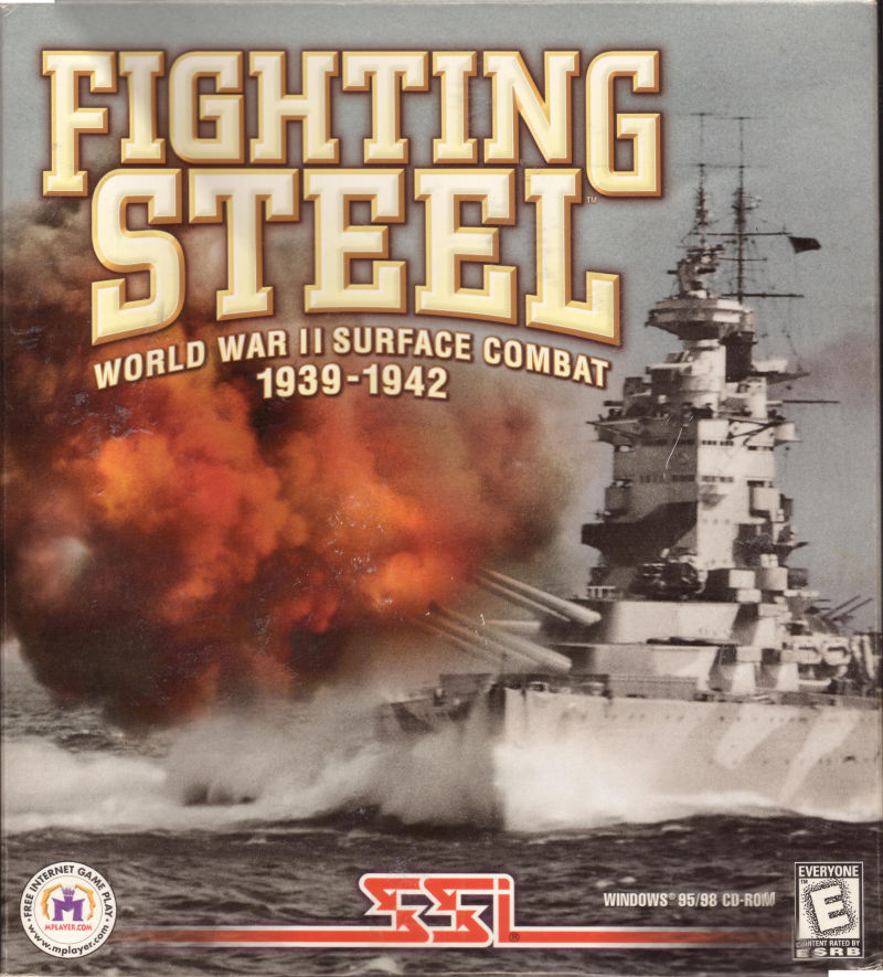 Fighting Steel: World War II Surface Combat 1939-1942 Windows Front Cover