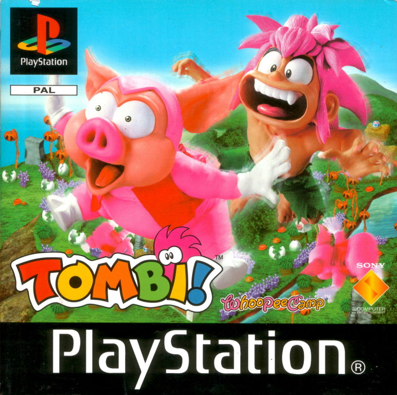 Tomba! PlayStation Front Cover