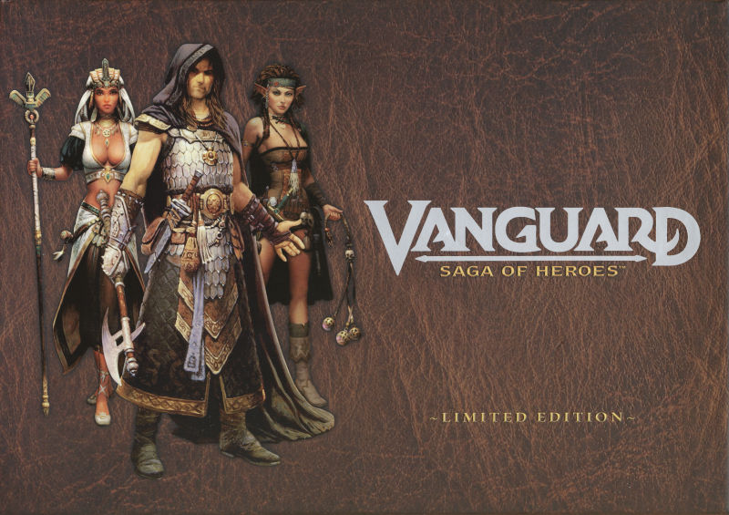 Vanguard: Saga of Heroes (Limited Edition) Windows Front Cover