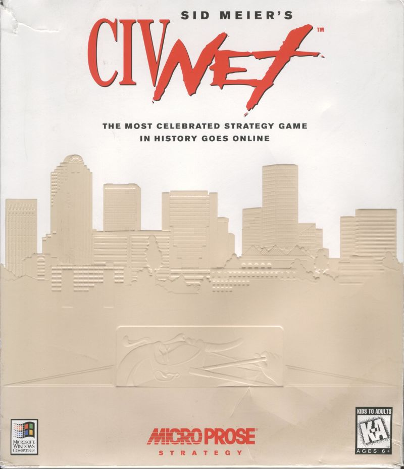 Sid Meier's CivNet Windows 3.x Front Cover
