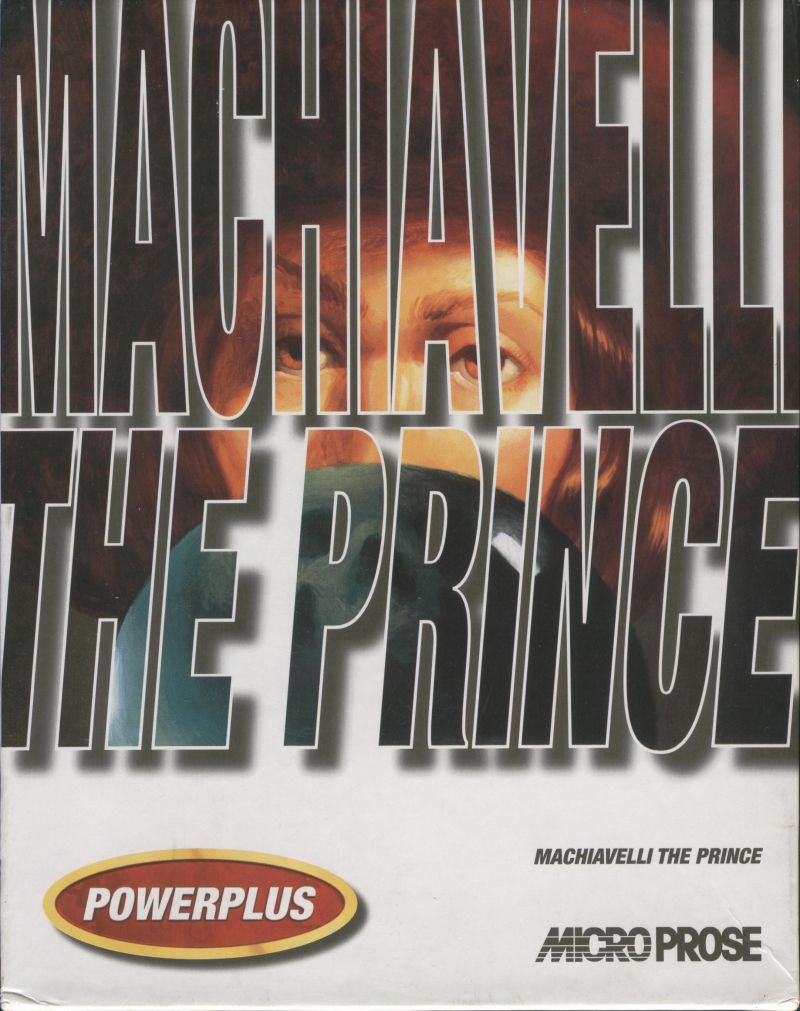 Machiavelli the Prince DOS Front Cover