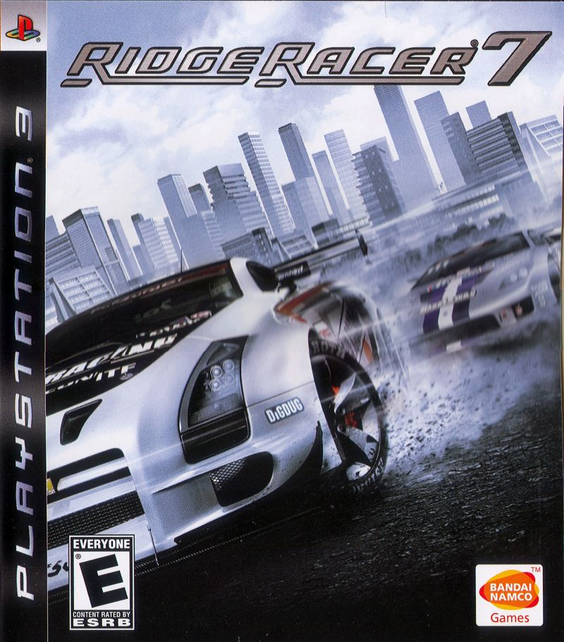 Ridge Racer 7 PlayStation 3 Front Cover