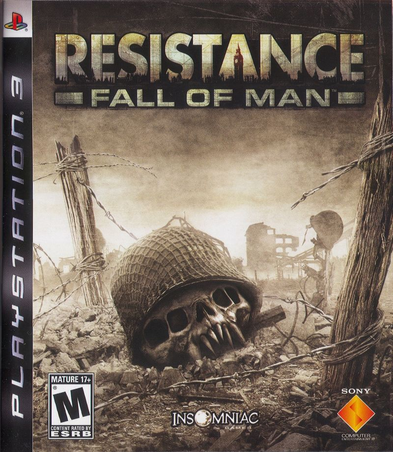 Resistance: Fall of Man PlayStation 3 Front Cover
