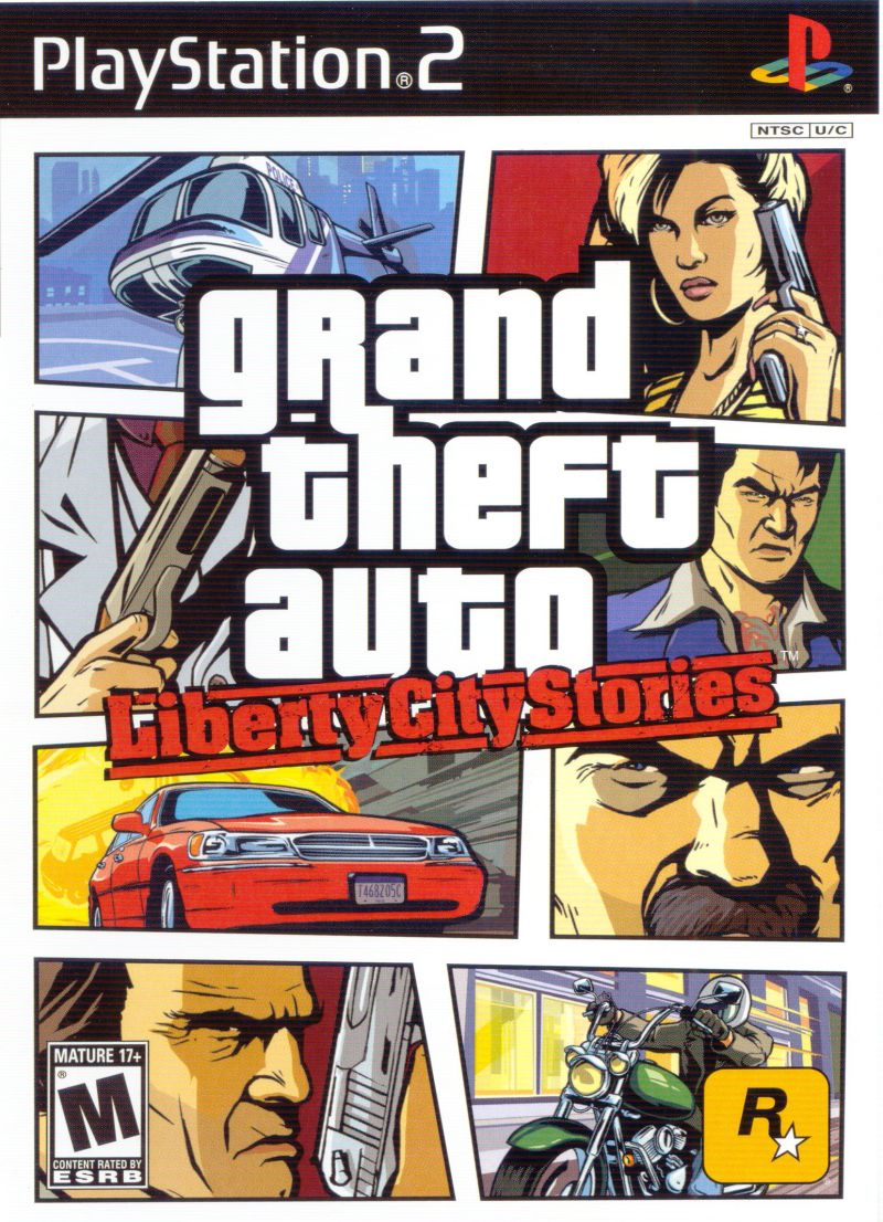 Grand Theft Auto: Liberty City Stories PlayStation 2 Front Cover