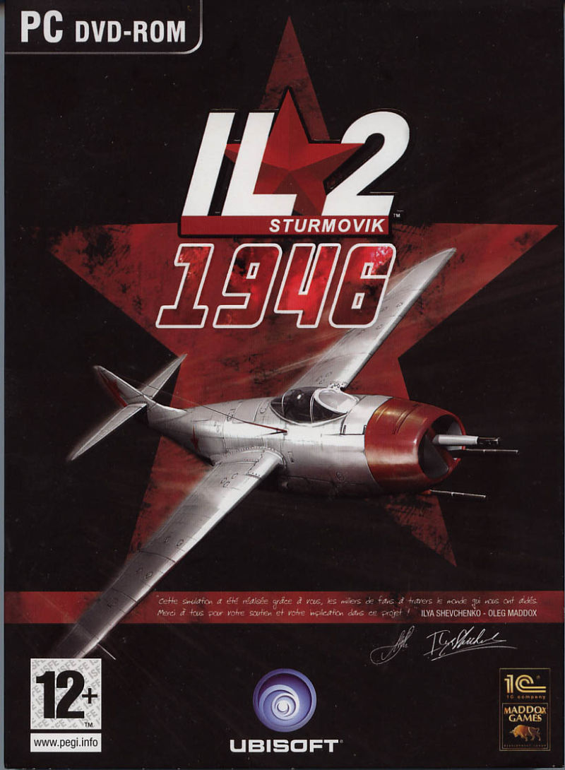 IL-2 Sturmovik: 1946 Windows Front Cover