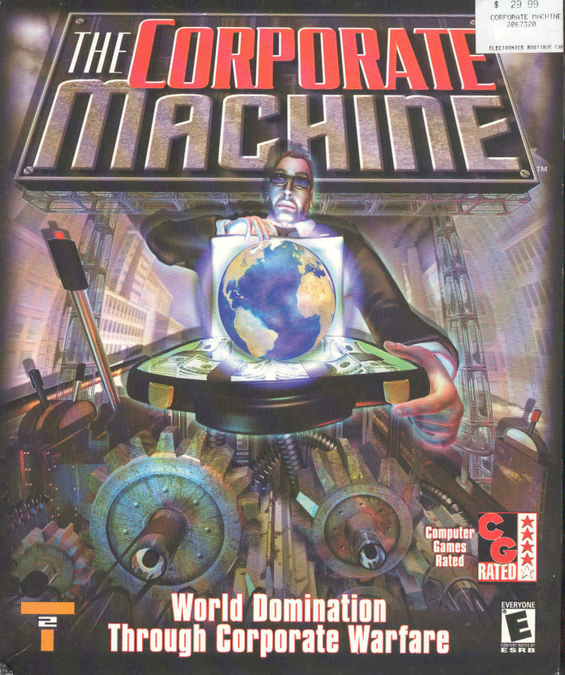 The Corporate Machine Windows Front Cover