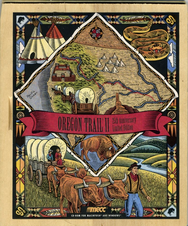 Oregon Trail II: 25th Anniversary Limited Edition Macintosh Front Cover