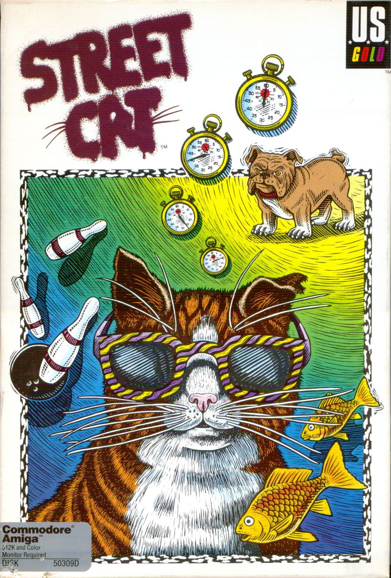 Street Cat Amiga Front Cover