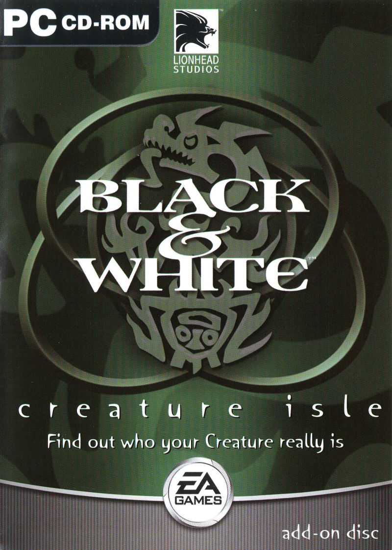 Black & White: Creature Isle Windows Front Cover