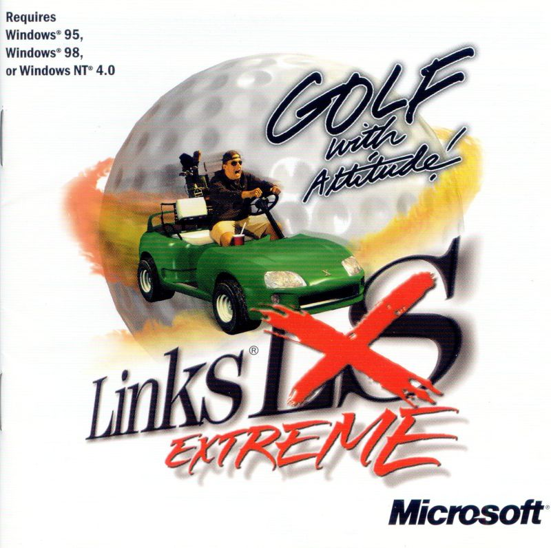Links Extreme Windows Other Jewel Case - Front