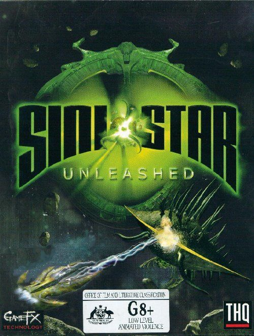 Sinistar Unleashed Windows Front Cover