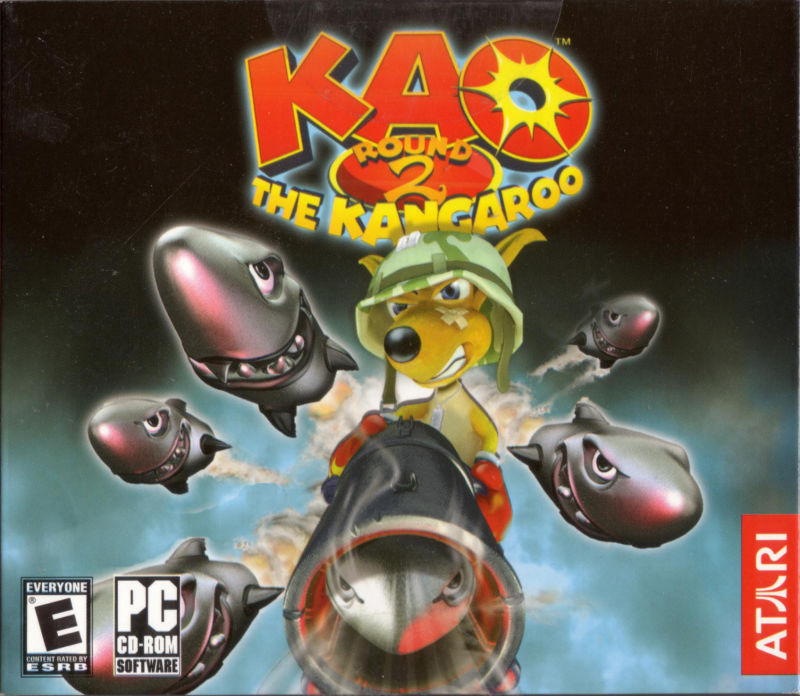 Kao the Kangaroo Round 2 Windows Front Cover