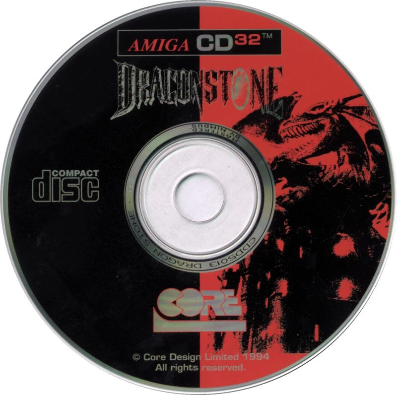 Dragonstone Amiga CD32 Media