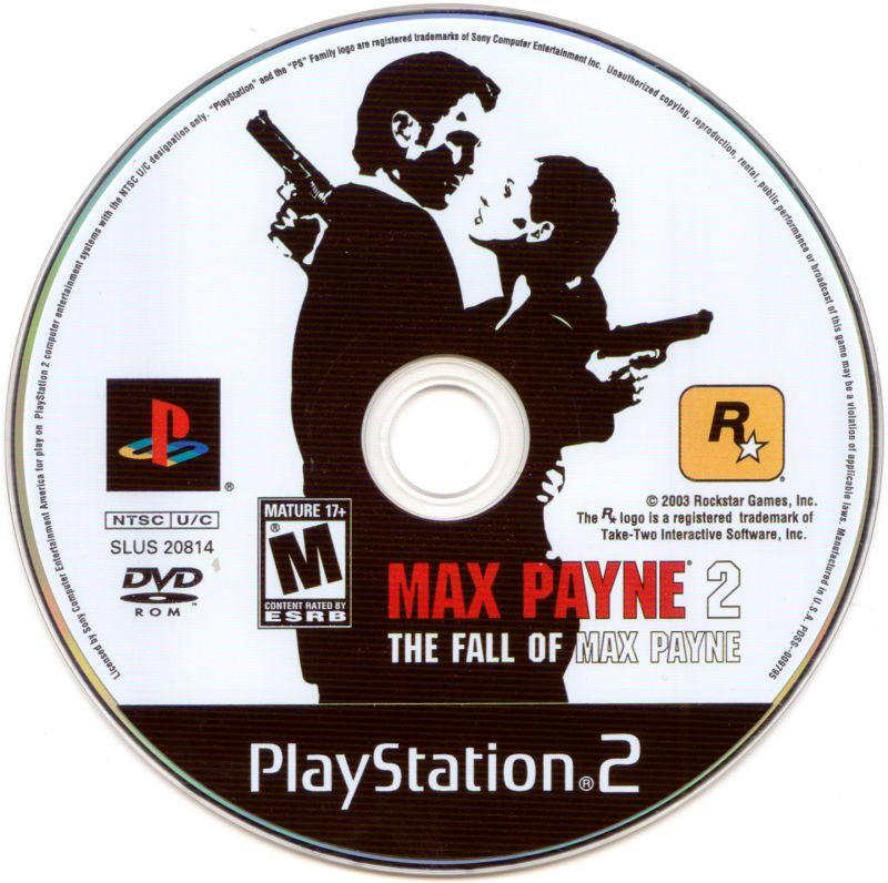 Max Payne 2: The Fall of Max Payne PlayStation 2 Media