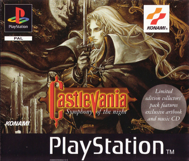 Image result for Castlevania Symphony of the Night box art