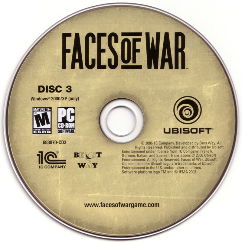 Faces of War Windows Media Disc 3