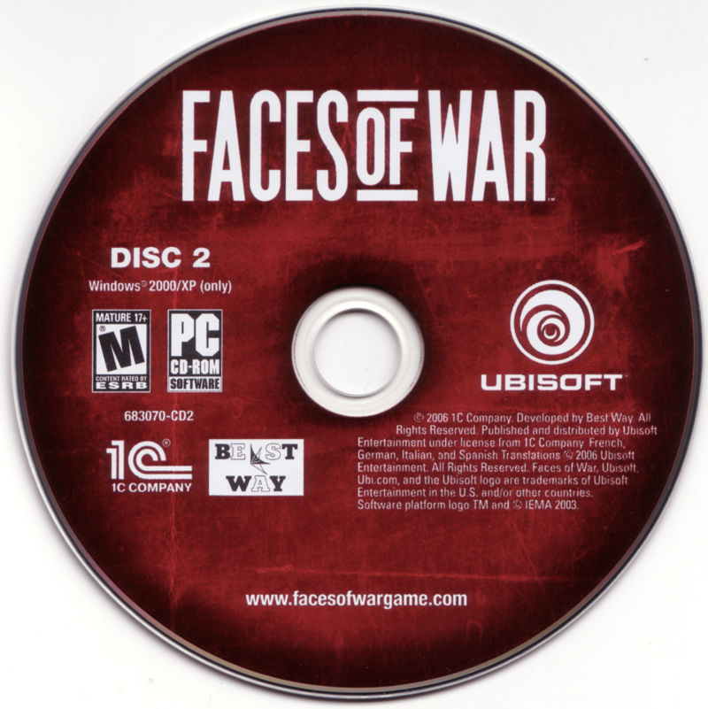 Faces of War Windows Media Disc 2