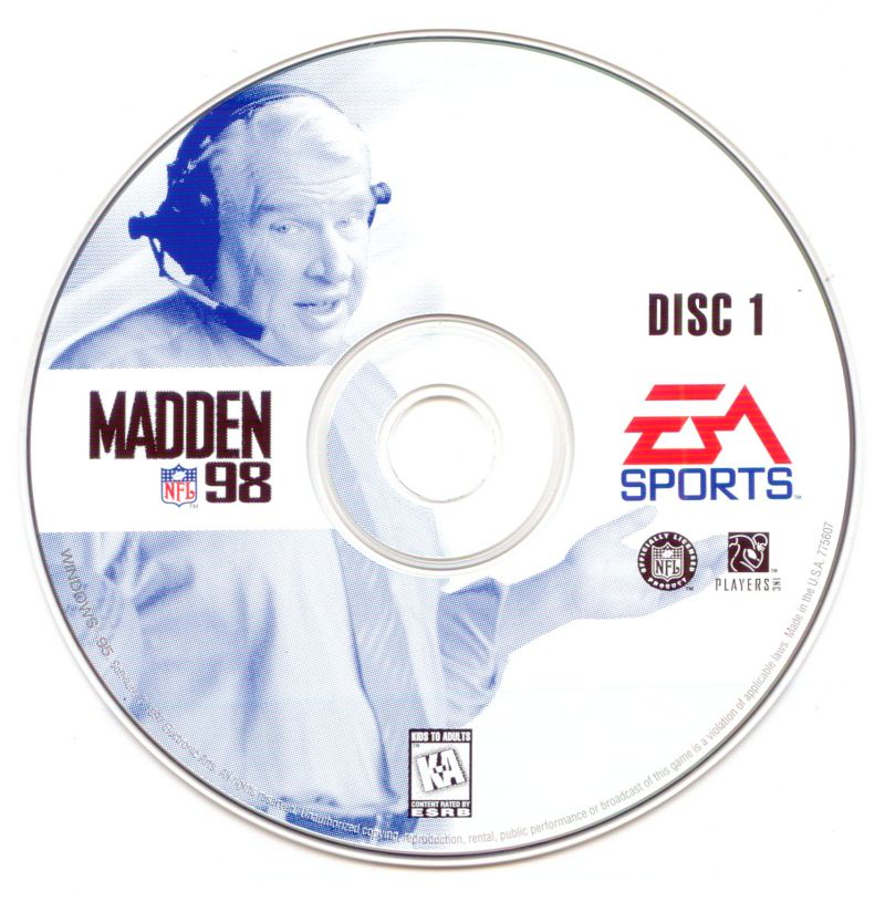 Madden NFL 98 Windows Media