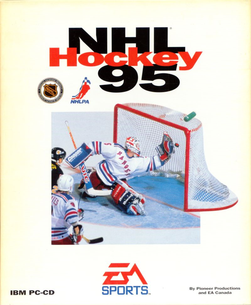 NHL 95 DOS Front Cover