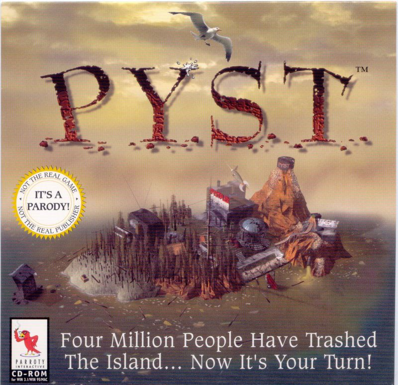 Pyst (Special Edition) Macintosh Other Jewel Case - Front