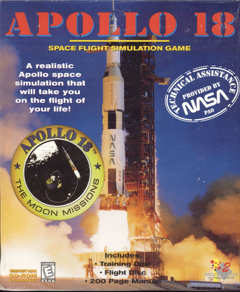Apollo 18: The Moon Missions Windows Front Cover