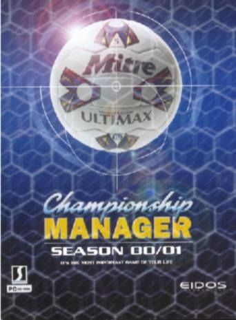 Championship Manager: Season 00/01 Windows Front Cover
